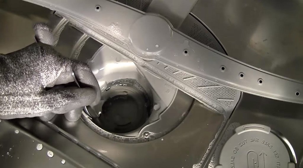 Bosch dishwasher error E24