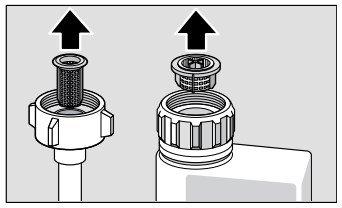 Bosch Dishwasher Water Supply Hose Filter