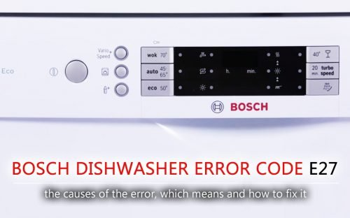 bosch silence plus 44 dba owners manual