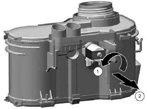 Removalregeneration valve