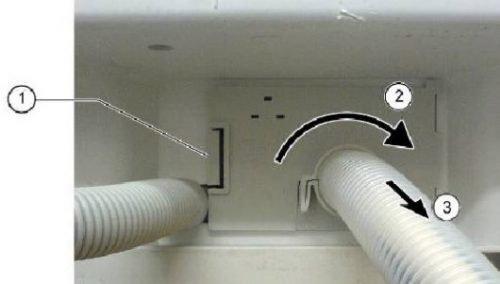 Removalsupply hose