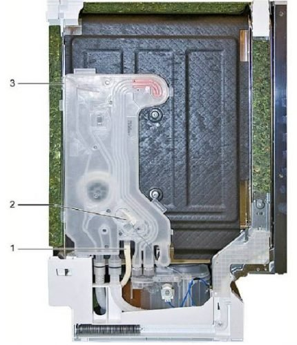 Replacing water inlet in the dishwasher Bosch