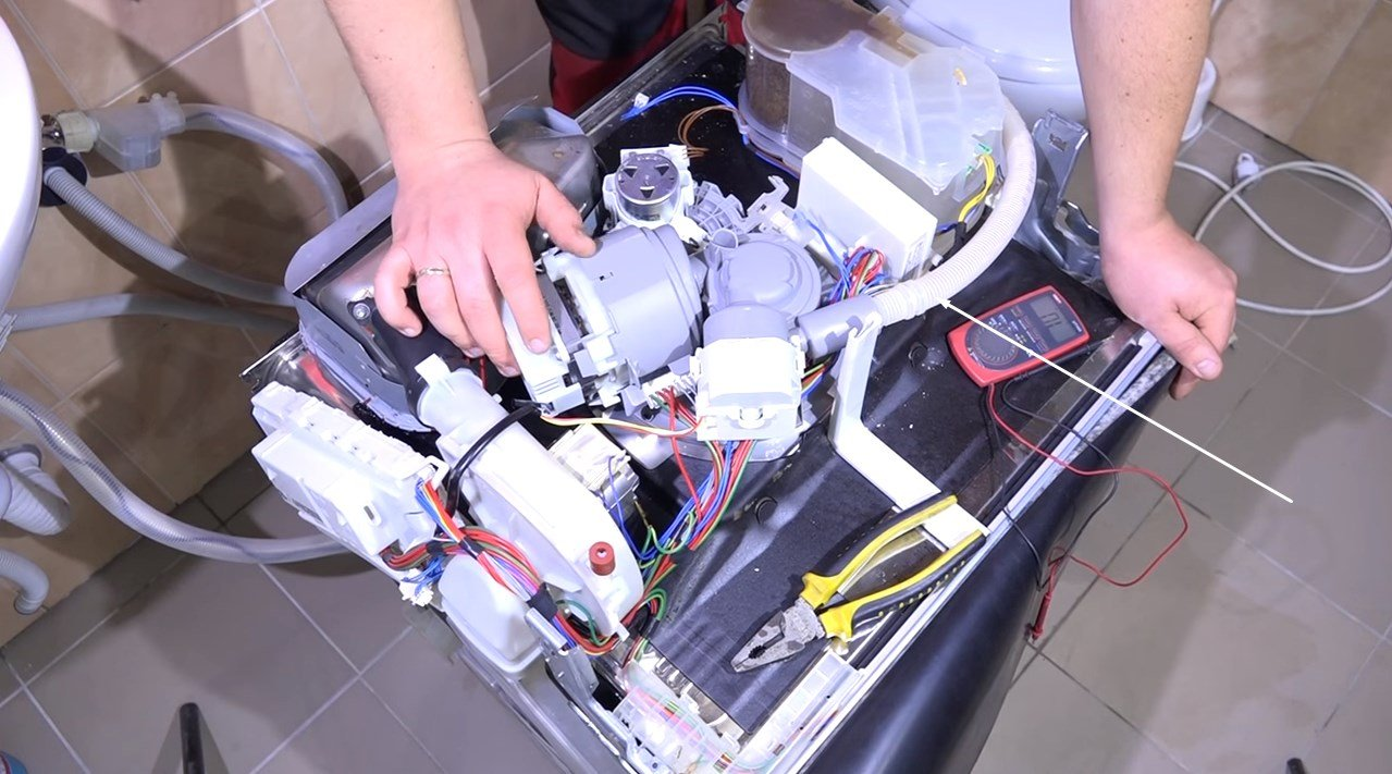 Bosch dishwasher error code e25