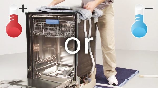 Is it possible to connect hot water to the Bosch dishwasher