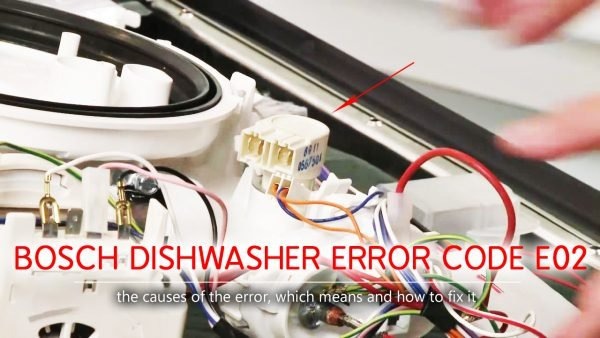 Bosch dishwasher error code e2