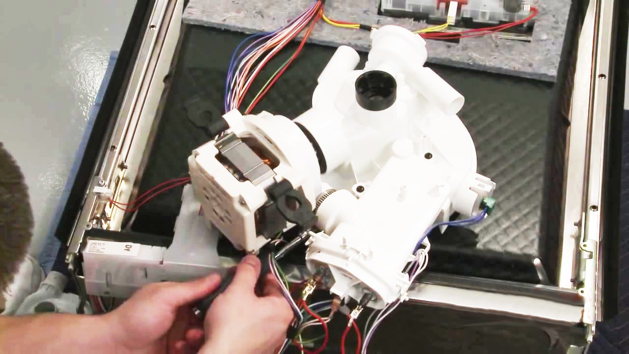 Bosch Dishwasher Error Code E20 Troubleshooting Faults Repairs Wiring Replacement Of The Circulation Pump