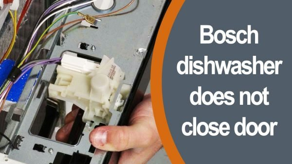 Bosch dishwasher does not close the door