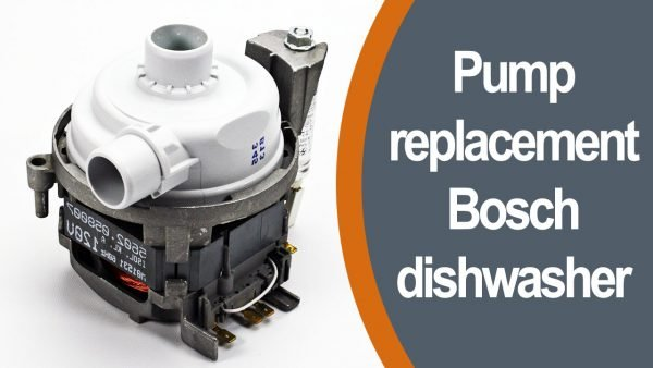 Pump replacement Bosch dishwasher