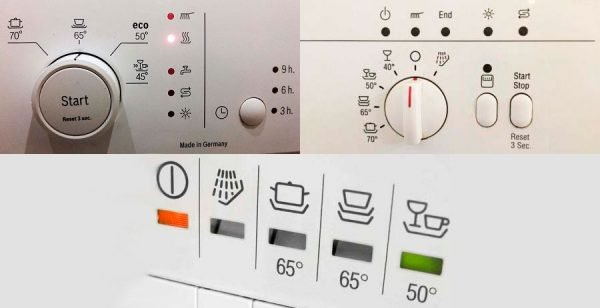 Error codes for Bosch washing machines without display